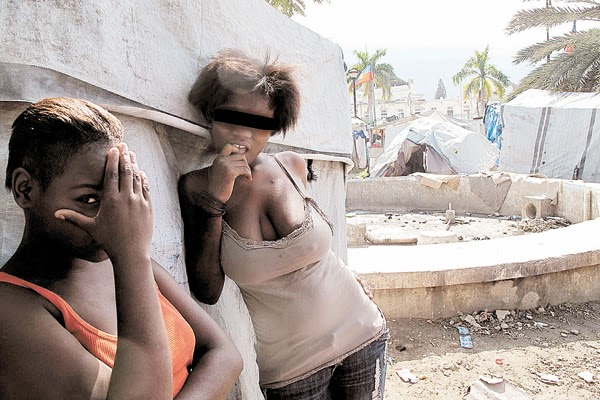 niñas-huerfanas-Haití
