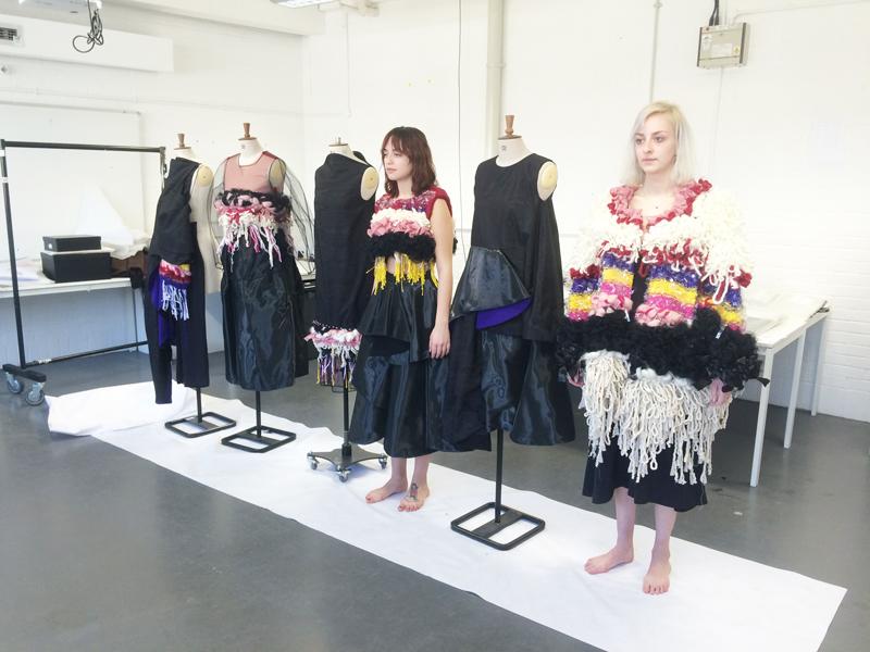 Lauren Pullen Graduate Fashion Week 2015