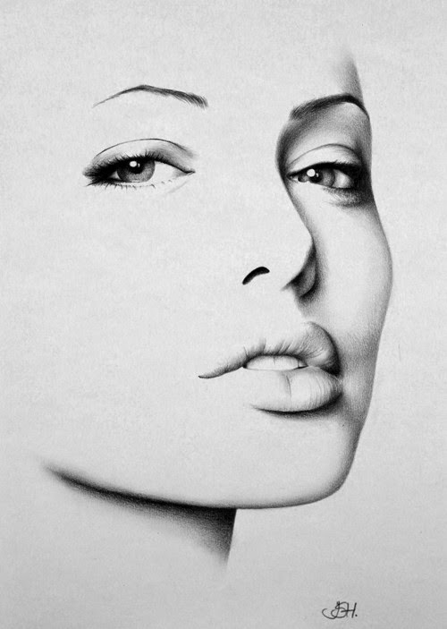 06-Angelina-Jolie-Ileana-Hunter-Recognise-Portrait-Drawings-Detail-www-designstack-co