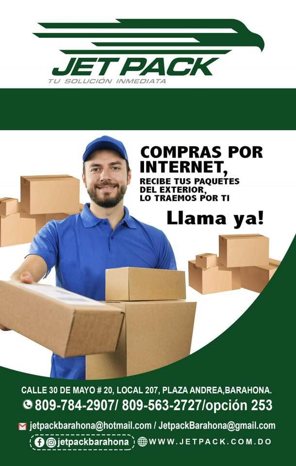 COMPRAS POR INTERNET...Traemos tus paquetes desde el exterior