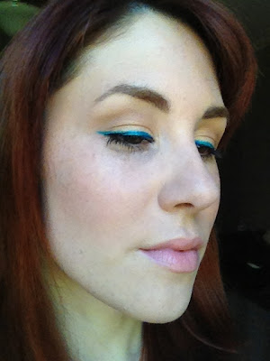 turquoise liquid eyeliner