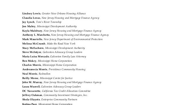Federal Housing Finance Agency - Nj Housing And Mortgage Finance Agency