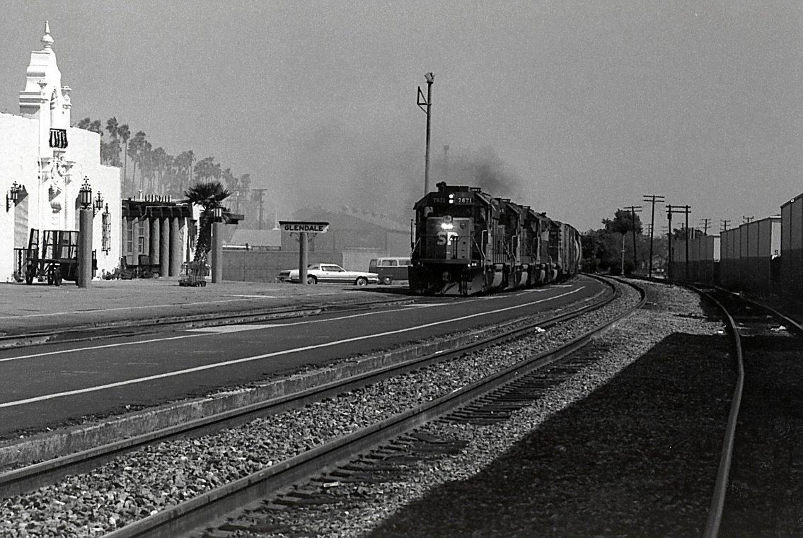 Phantom Los Angeles Glendale Southern Pacific Railroad