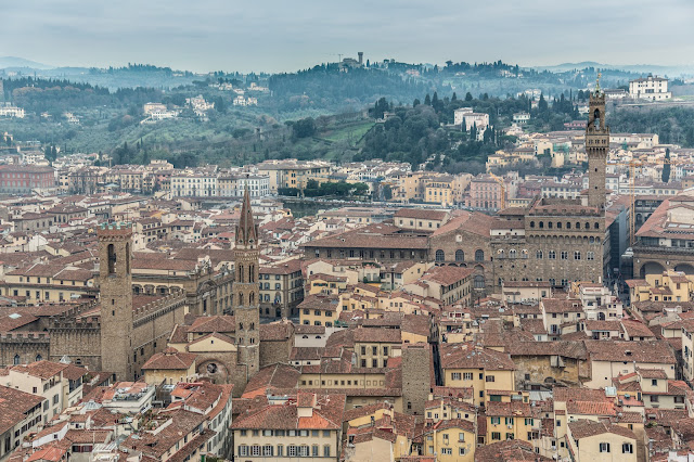 La Signoria ... desde la cúpula de Duomo :: Canon EOS5D MkIII | ISO200 | Canon 24-105 @50mm | f/4.0 | 1/80s