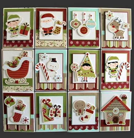 christmas for cards beautiful grid images
