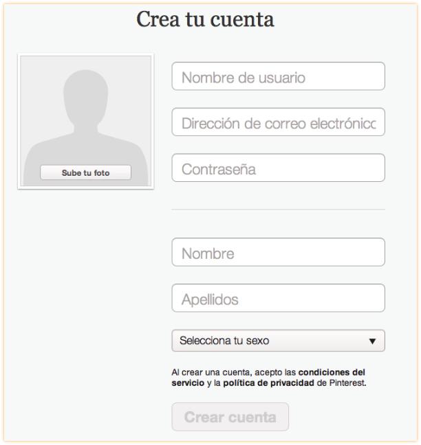 Creando la cuenta de Pinterest-paso3