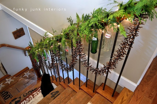 Twig garland, by Funky Junk Interiors