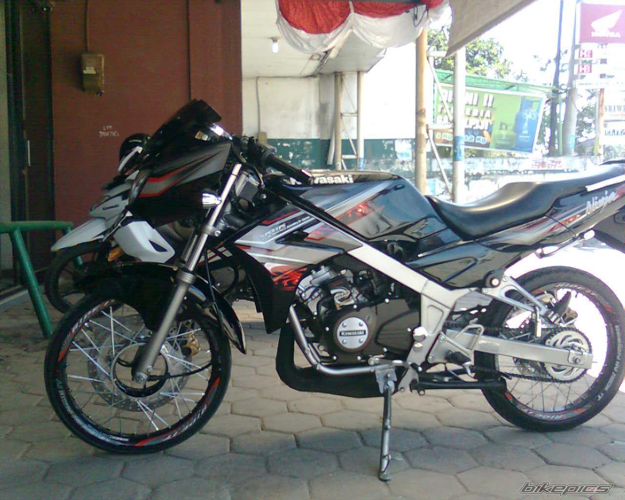 . modifikasi motor ninja   Modifikasi ninja 150 cc 2 tak