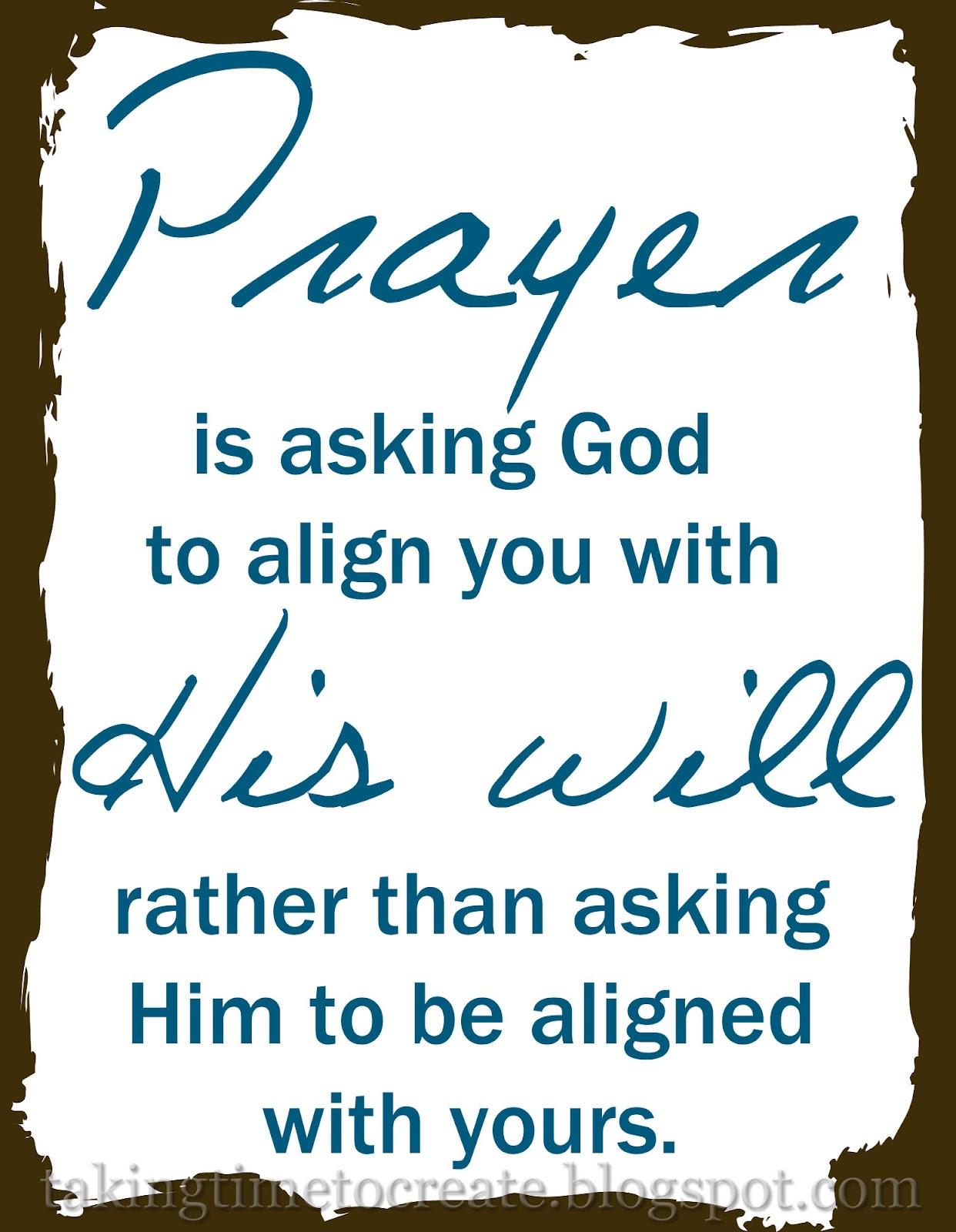 Geeky image within prayer printable
