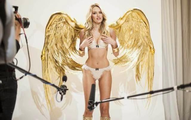 Candice Swanepoel es un ángel