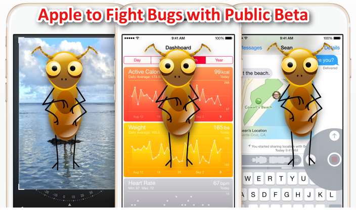 Apple iOS 9 bugs