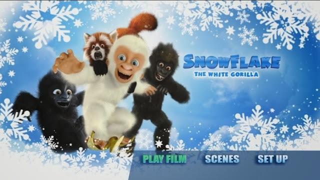 Snowflake the White Gorilla DVD, albino animals, Barcelona Zoo