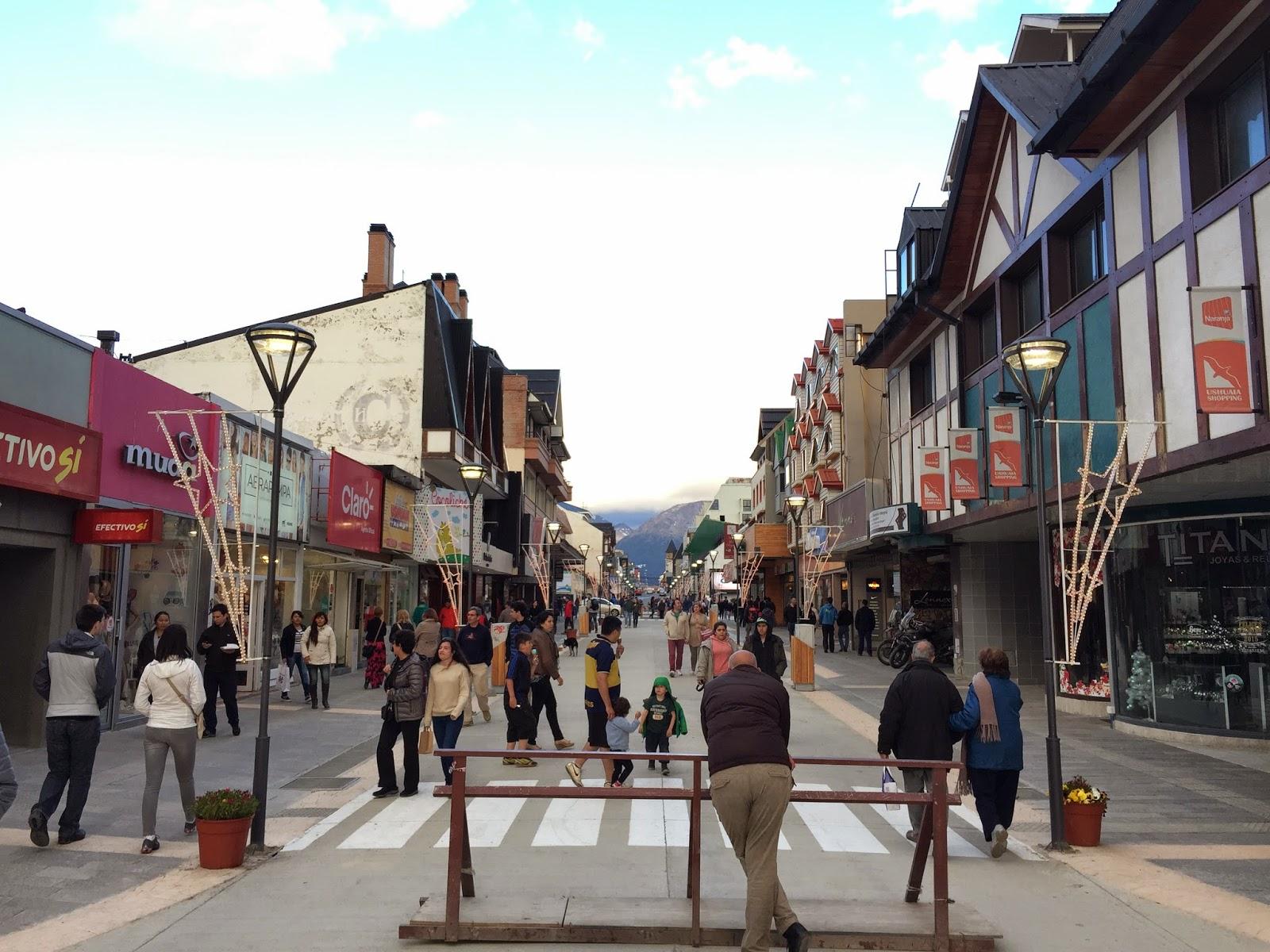 Ushuaia Einkaufsmeile / Shopping