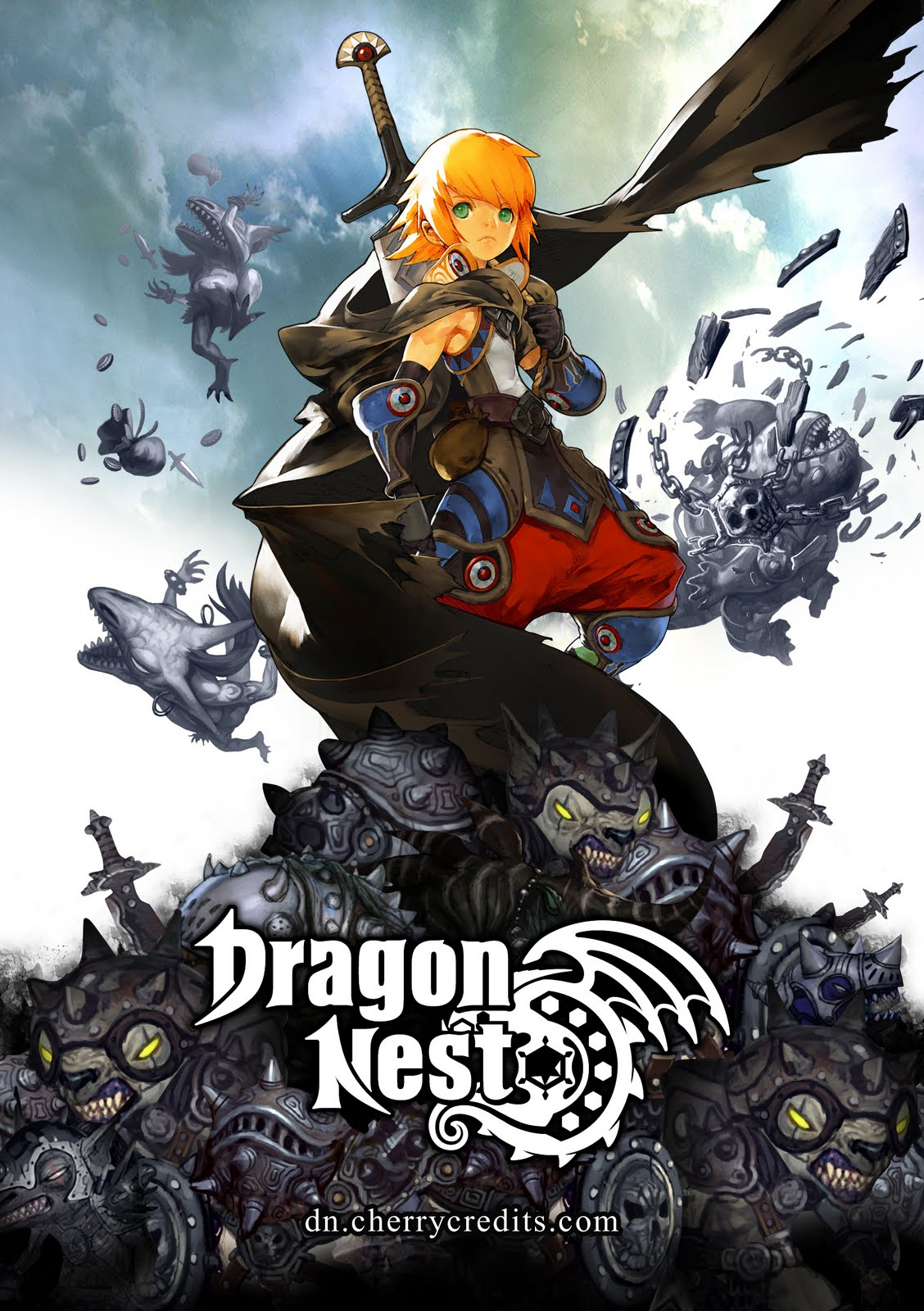Gosh, it's Dragon Nest SEA .