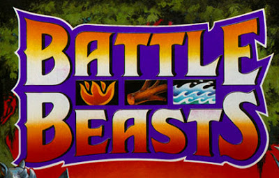 Hasbro's Battle Beasts Logo