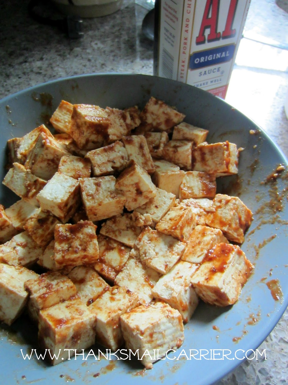 marinate tofu
