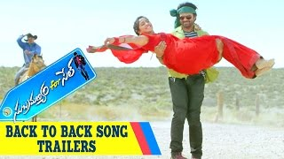 Subramanyam For Sale | Back To Back Song Official Trailers | Sai Dharam Tej | Regina Cassandra