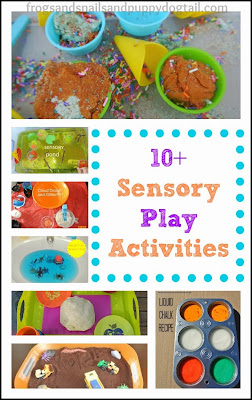 10+ Sensory Play Activities Kids Love by FSPDT