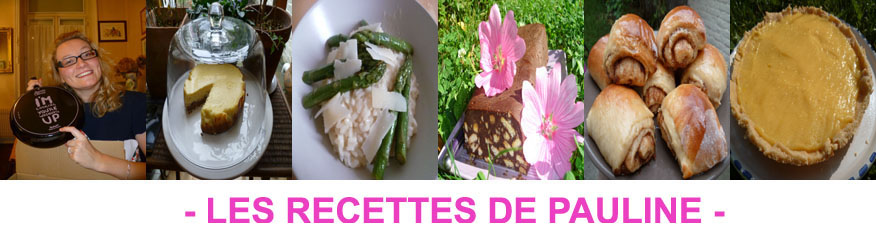 Les recettes de Pauline