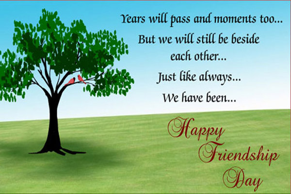 Happy Friendship Day Sms Message Wishes