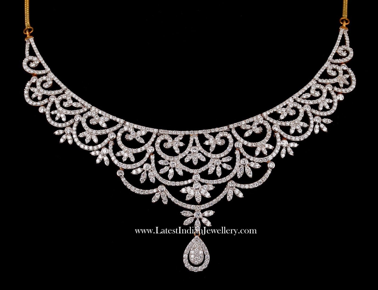 Designer Indian Diamond Necklace