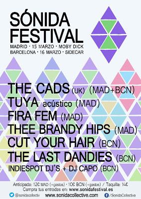 Sonida Festival 2013 Cartel completo