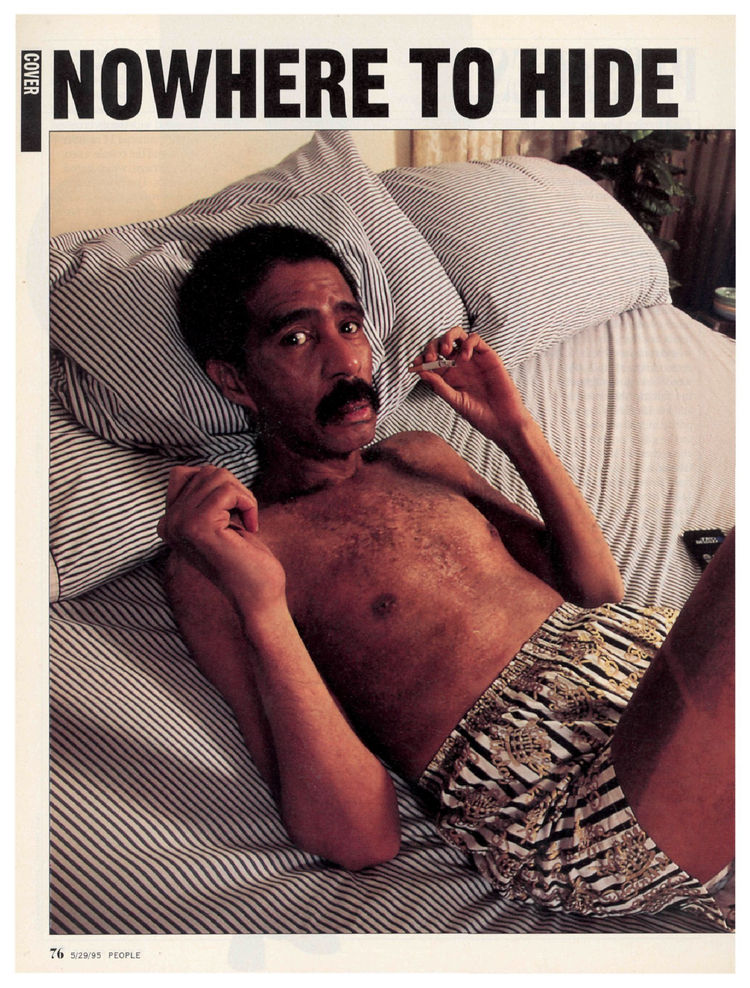 Richard Pryor's 1995 cover of People magazine
