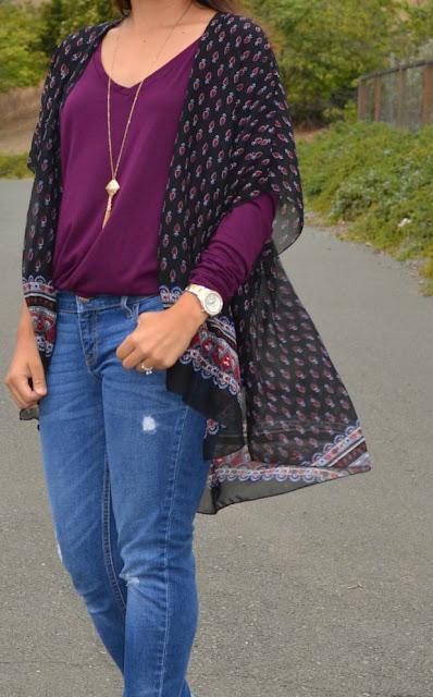 Kimono Outfit Two Ways