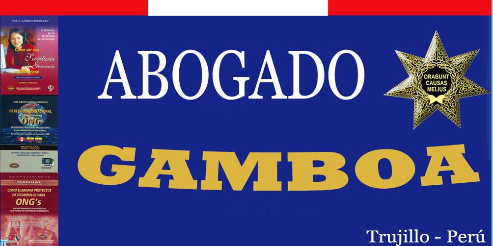 JOSÉ ALBERTO GAMBOA RODRIGUEZ - ABOGADO