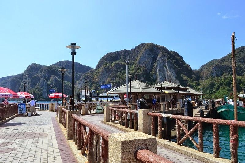 Kho Phi Phi, Thailande, ferry, ile, island