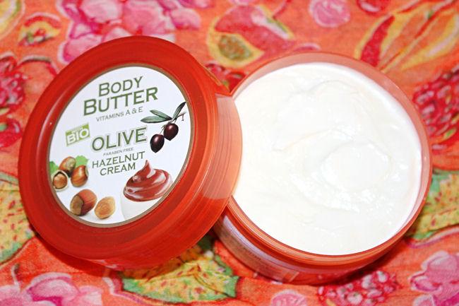 Athena's Treasures Body butter- Exotic fruits + Hazelnut cream. Greek beauty products. Pharmaid Athena's treasures.