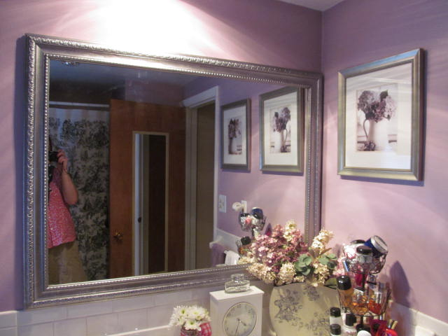 The fine art of motherhood do it yourself framed mirror for Mirror yourself