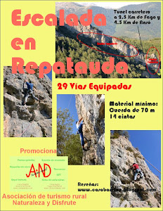 AND Turismo Rural promociona la escalada en Repatauda