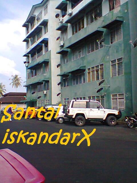 iskandarx.blogspot.com, Suasana pagi-pagi di Flat Ijau Balik Pulau, santai, Flat Ijau, Balik Pulau