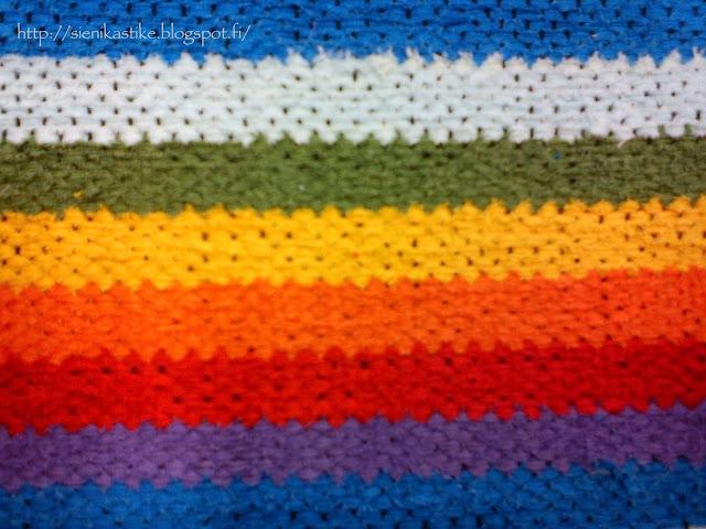 sateenkaari poppana, rainbow colors