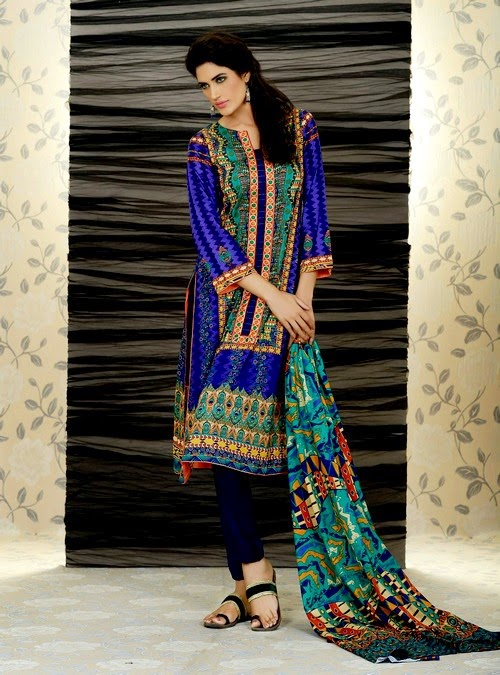 Firdous Summer Lawn Collection 2014