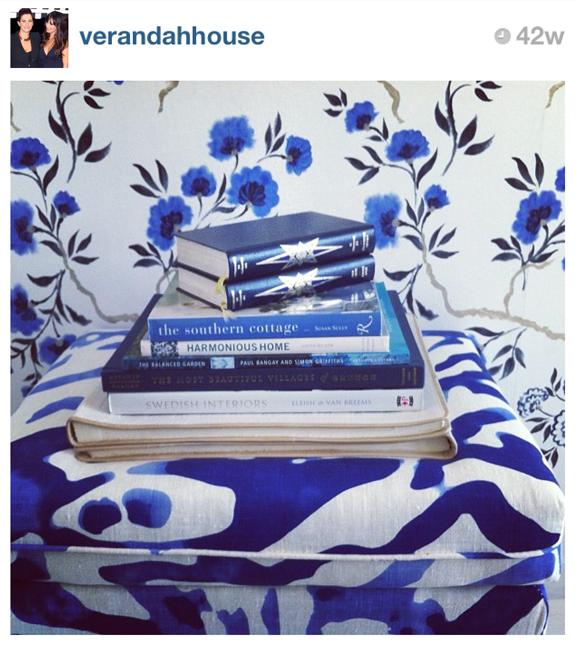 Blue and White Monday -- Insta Blue & White