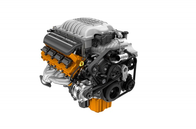 2016 Dodge Challenger Engine Photo