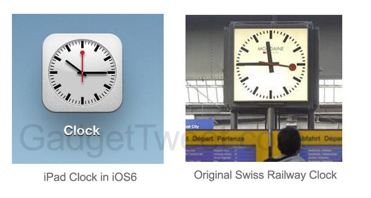 Clock Replica Apple Ipad Clock is a Replica