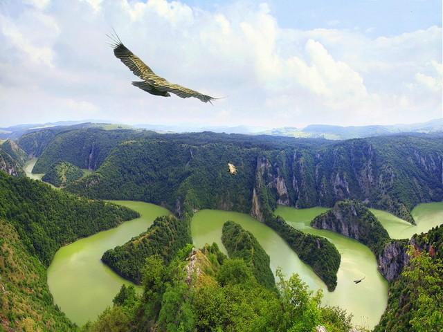 River Uvac, Serbia