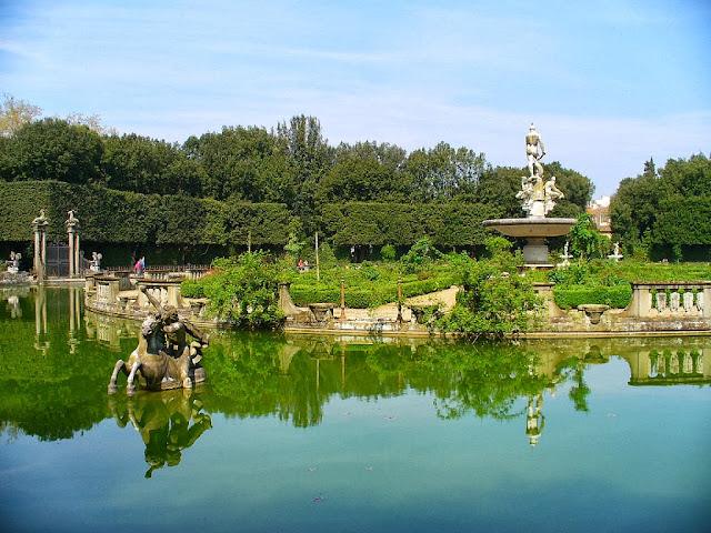 Los Jardines de Boboli.