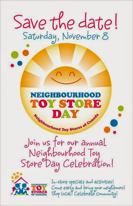 Neighbourhood toy store day