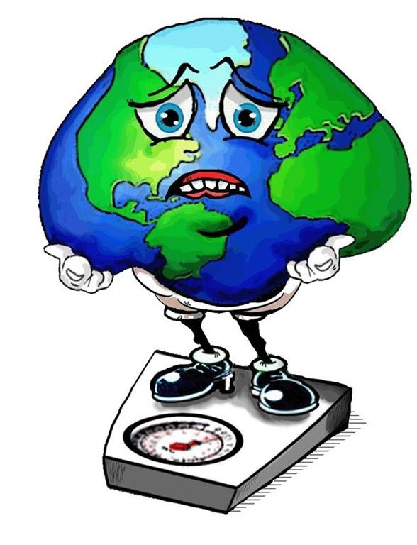 Humanidade pesa 287 milhões de toneladas