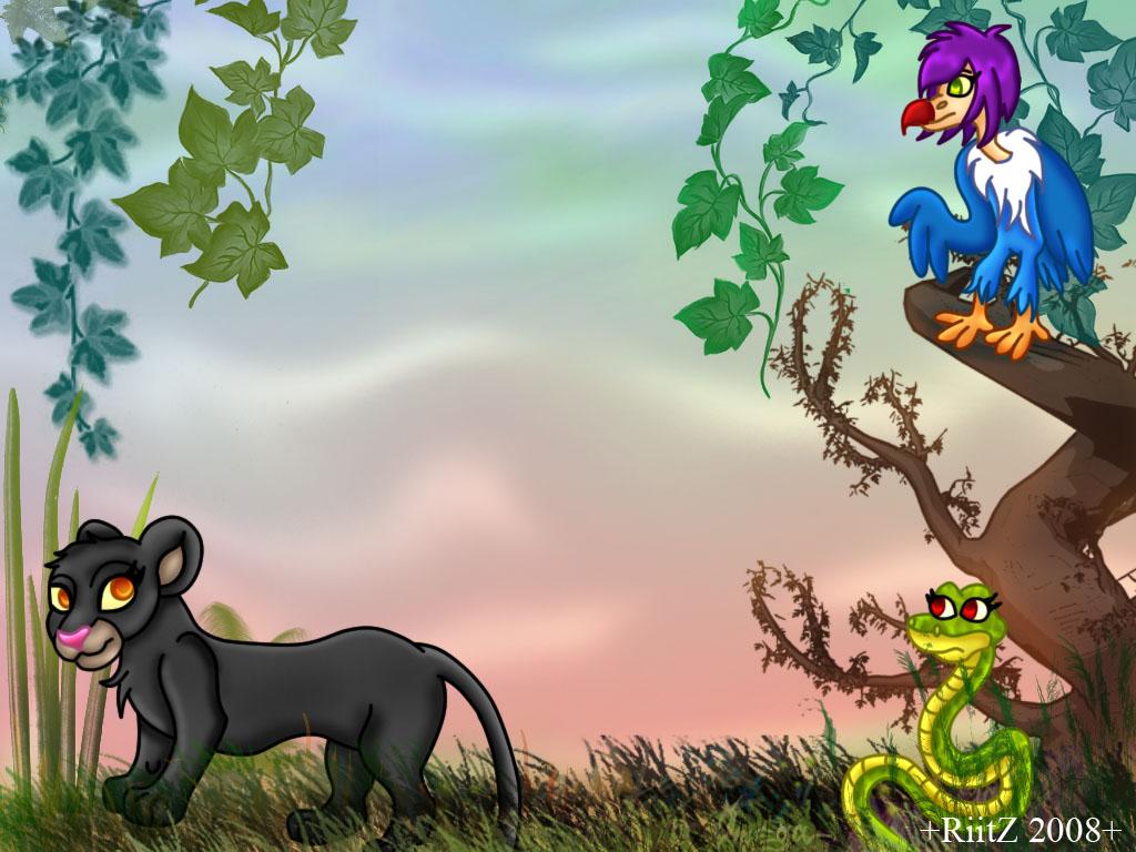 safari cartoon wallpaper - photo #11