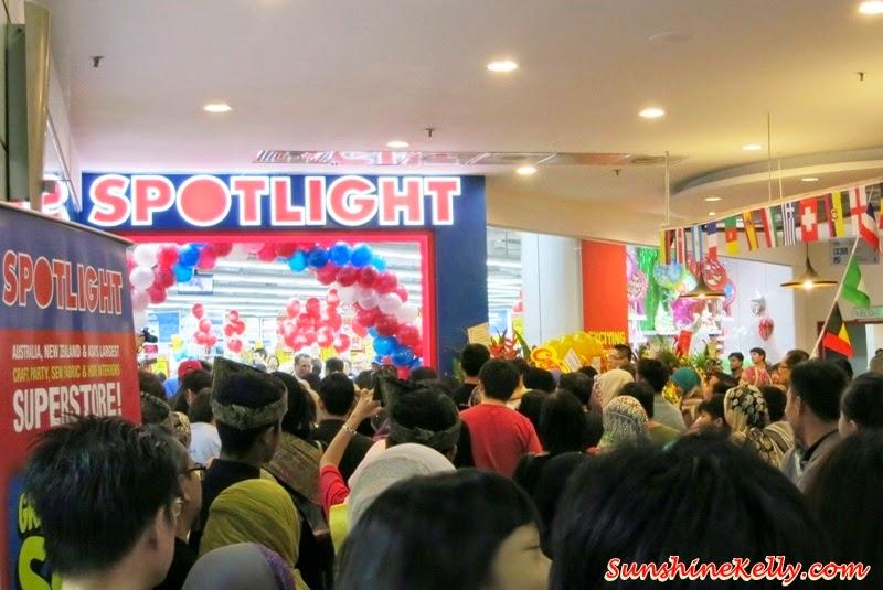 Spotlight Malaysia Official Opening, Spotlight malaysia, spotlight Ampang Point, ampang point Shopping Centre