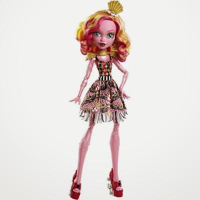 JUGUETES - MONSTER HIGH : Freak Du Chic  Gooliope Jellington | Muñeca - Doll  Toys | Producto Oficial | Mattel | A partir de 6 años
