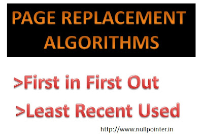Code for first in first out as FIFO and Least Recently Used as LRU page replacement algorithm using struture in C programming with output | Operating System