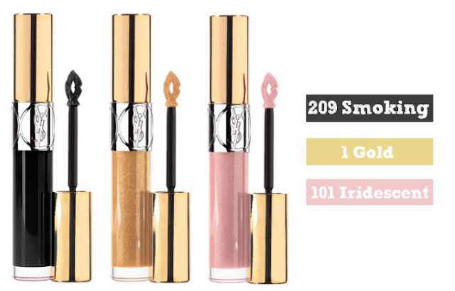 YSL Gloss Volupte Smoking Gold Iridescent