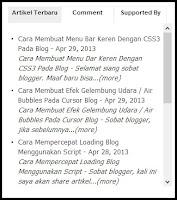 Cara Mudah Membuat Widget Multi Tab View Pada Blog
