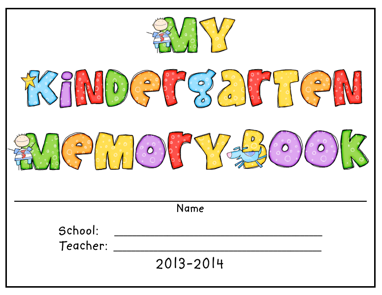 Kindergarten Memory Book Cover Ideas : Pics for gt memory book cover ideas